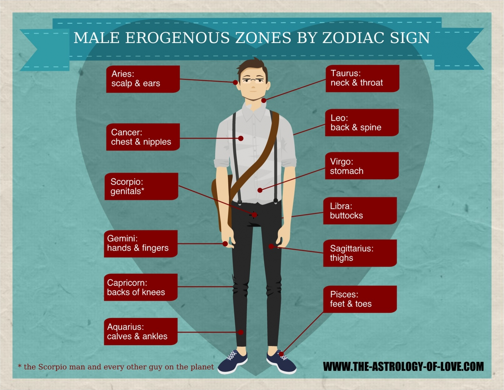 Erogeneous zone