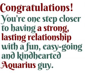 Make an Aquarius man fall in love with you