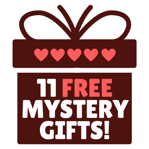 Eleven Free Mystery Gifts