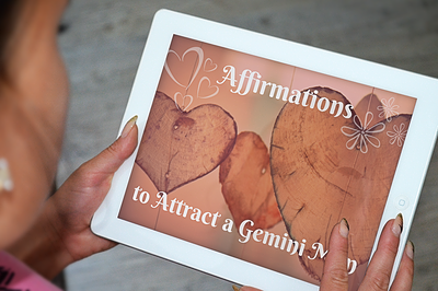 Affirmations to Attract a Gemini Man