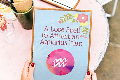 Love Spell to Attract an Aquarius Man
