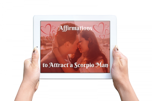 Affirmations to Attract a Scorpio Man Inset Image 2