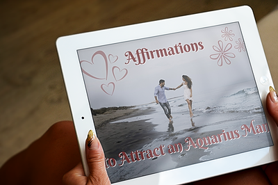 Affirmations to Attract an Aquarius Man Inset Image 1