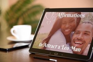 Affirmations to Attract a Leo Man