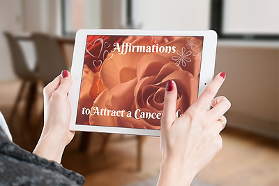Affirmations to Attract a Cancer Man Inset Image 1